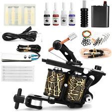 Complete Tattoo Kit Tatuaggio Macchinetta Tatuaggi Gun Power 4 Inchiostro