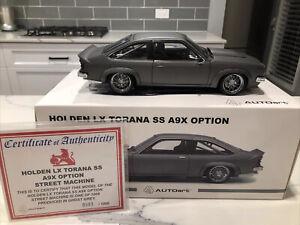 1/18 Autoart Holden LX SS A9X Option Torana Street Machine Grey