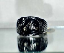 """NEW""~BIKER RING~MEN`S~ WOMEN`S~UNISEX~316L STAINLESS STEEL  RING FATHER'S DAY"