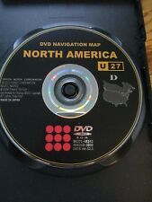 2004- 2009 TOYOTA TUNDRA SIENNA LEXUS LS430  RX330 GEN 4 NAVIGATION DVD  MAP U27