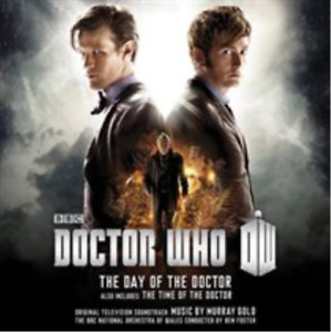 Doctor Who - The Day of the Doctor/The Time of the Doctor (UK IMPORT) CD NEW