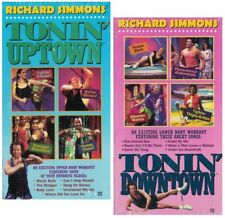 Richard Simmons Tonin' Uptown & Downtown VHS Video Tape New Sealed
