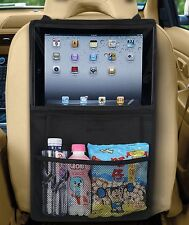 Zento Deals Car Back Seat Organizer Tablet  iPad Case Sleeve Pouch Holder Bag