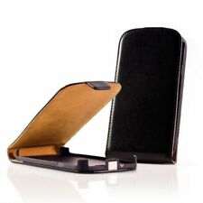 Cover Case Leather Ultra Thin Black for Alcatel One Touch OT-991