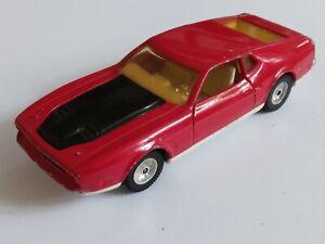 RARE VTG 1972 CORGI No 391 JAMES BOND 007 FORD MUSTANG MACH 1. EXCELLENT COND