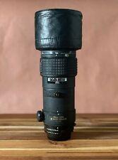 Nikon AF Nikkor ED 300mm f4 lens / FROM PULITZER WINNER / EXCELLENT NEAR MINT!