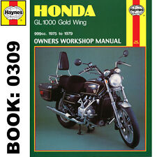 Honda GL1000 Gold Wing K1 K2 GL1000KZ GL1000LTD 1975-79 Haynes Workshop Manual