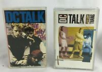 "Lot of 2 DC Talk Cassette Tapes ""Nu Thang"" Christian Rap Vintage 1990s"