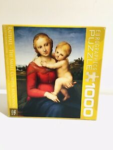 Eurographics Jigsaw Puzzle 1000 Pce Raphael The Small Cowper Madonna