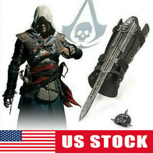 Assassin's Creed4 Flag Pirate Cosplay Hidden Blade Edward Kenway Gauntlet Toy