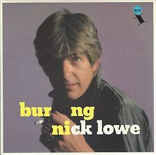 "NICK LOWE - BURNING / ZULU KISS - UK 1982 7"" VINYL [PICTURE SLEEVE] - XX 20"