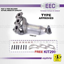 EEC CATALYST VX6013T TYPE APPROVED VAUXHALL AGILA CORSA Z10XE Z10XEP FREE KIT