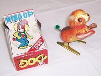 Wind Up Jumping Dog Vintage Tin Toy, NO Key