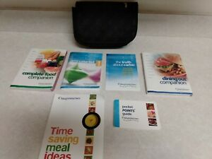 Weight Watchers Flex Points Booklets And Case Complete Food And Dining Out, Etc.