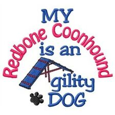 My Redbone Coonhound is An Agility Dog Sweatshirt - Dc1824L Size S - Xxl