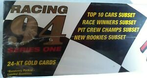 94 Series 1, ACTION PACKED dealer hobby box, racing, includes prototype pack