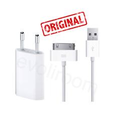 Original Apple USB Ladekabel Datenkabel MA591G/A für iPhone 4S 4 3G + Netzteil