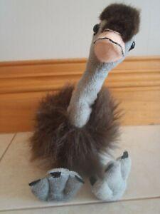 Plush emu, 30 cm