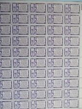 Gutenberg Bible-the USPS sheet of stamps #1014