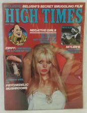 Vintage High Times Magazine May 1982 Belushi's Secret Smuggling Film Hitler