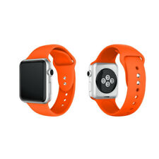 Replacement Silicone Sport Band Strap For Apple Watch 38mm 40mm 44mm Series 4