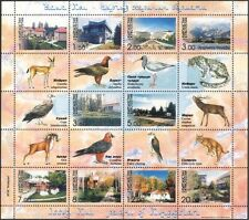 Kirghizistan 2003 TURISMO/Edifici/architettura/Animali/NATURA Sht 10v (s2216s)