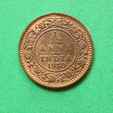 1930 India 1/12 Anna SNo53008