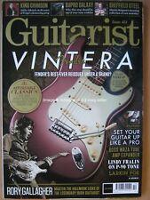 Guitarist October 2019 Fender Vintera Rory Gallagher King Crimson Martin Simpson