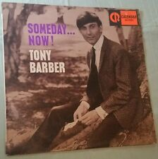 Tony Barber Someday Now  Sticker SAMPLE with Steve & the Board backing band 1966