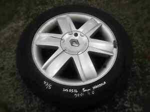Renault Megane 2002-2008 Nervastella Alloy Wheel + Tyre 205 55 16 5mm Tread 4/5