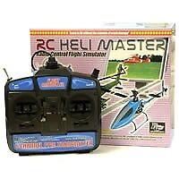 RCSIM51 RC Helimaster Simulator W/Usb Transmitter Box Set Mode2