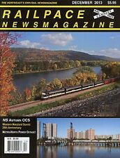 Railpace NewsMagazine December 2013 Vol 32 No 12 Metro North Power Outage