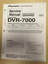 Pioneer Service Manual for the DVR-7000 DVD Recorder    mp