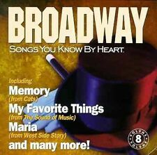 Songs You Know By Heart: Broadway by Various Artists  (CD)