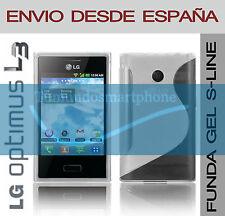 FUNDA GEL TPU TRANSPARENTE LG OPTIMUS L3 E400 MODELO S LINE EN ESPAÑA CARCASA