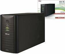 TRUST OXXTRON 17679 HEAVY DUTY 1300VA MANAGED BATTERY BACKUP UPS 3 YEAR WARRANTY