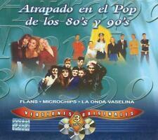 Pop De Los 80's 90's CD NEW Versiones Originales BOX SET Con 3 CD's 45 Canciones