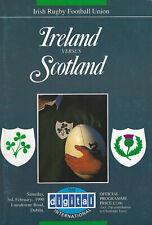 More details for ireland v scotland grand slam season for scotland 3 feb 1990 rugby programme