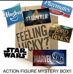Action Figure Mystery Box Disney , TMNT, LoTR, Star Wars,Marvel,Spawn,Star Trek