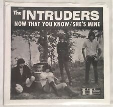 "THE INTRUDERS ""Now That You Know "" 7"" Single 1991 Reissue Vinyl VG+ Garage Punk"