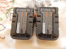TWO RIDGID R840085 NEW AEG 18V 18 volt LI-ION HYPER BATTERIES Fuel Gauge 27 Wh