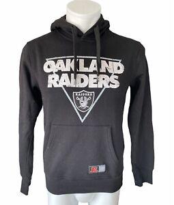 Oakland Raiders Hoodie Schwarz S
