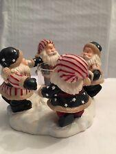 Home Interior American Christmas Santa Corive Candle Holder