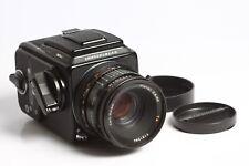 Hasselblad 503CX Black mit Acute Matte + Planar CF 2,8/80 T* + Magazin A12