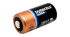 1x cr123 pile lithium photo cr123a en vrac Bulk 3v Duracell ultra