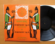 EXP 38 Haydn Symphony 53 & 50 Heidelberg Chamber Orchestra ORYX Stereo NM/EX