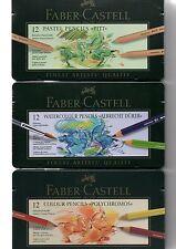 FABER CASTELL Polychromos/Albrecht Dürer/Pitt Pastel/Monochrome/9000/Jumbo Grip