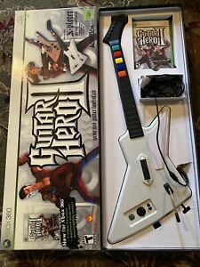 Red Octane Guitar Hero II 2 XBOX 360 Xplorer Controller And Game USB Wired