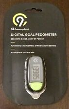 Champion C9 Digital Goal Pedometer 30 Day Exercise Tracker - New