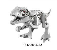 Indominus Rex Jurassic Large Dinosaur Figure Blocks Fit LegoMoc Kid's Toys